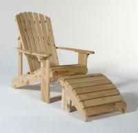 Our top-selling Adirondack Chair features a sculpted seat, and curved back slats for maximum comfort! It is made entirely out of 5/4 Western Red Cedar.