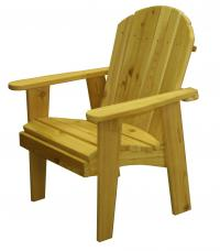 Click to enlarge image Garden Chair 20`` Seat Width - This chair is very easy to get in and out of.